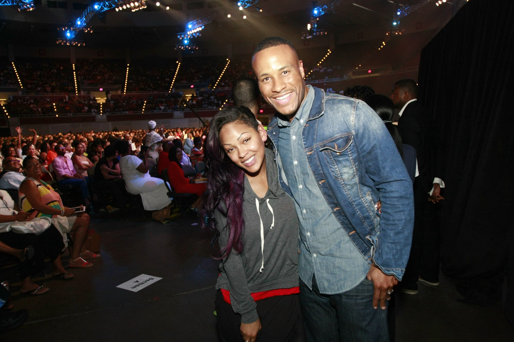 Actress megan good and husband film executive devon franklin sharing
